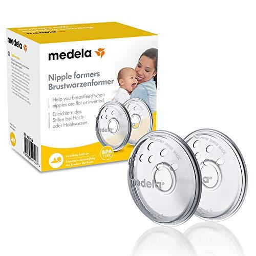 Medela Brustwarzenformer – Formt umgekehrte oder flache Brustwarzen zur Vorbereitung auf das Stillen –...
