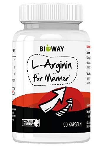 BIOWAY L-ARGININ 90 natürliche Kapseln