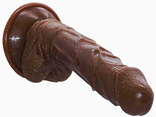 GYYFF Weiblicher Masturbator Simulation Penis AV-Stick G-Punkt-Stimulation Starker Saugnapf Einsteckbar 5.9in,...