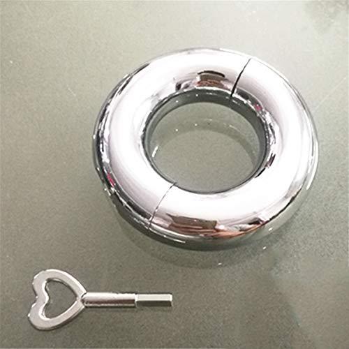 Penis Ring Cock Ringe Edelstahl Mannes Schwanz Ring Enhancer Keuschheit Ringe Mit Schraubenschlüssel Und...