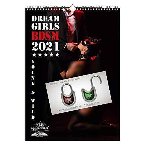Sexy BDSM Girls DIN A3 Kalender für 2021 Erotik - Seelenzauber