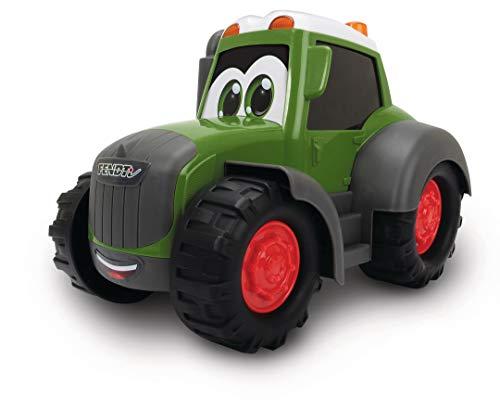 Dickie Toys Happy Fendt Traktor, Trecker, Bauernhof Spielzeug, keine verschluckbaren Teile, für Kinder ab 1...