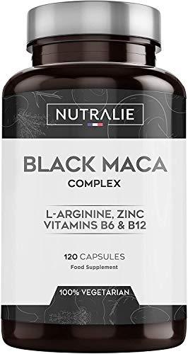Maca Schwarz aus Peru entspricht 24.000 mg für jede Dosis von 1200 mg, mit L-Arginin, Zink und den Vitaminen...