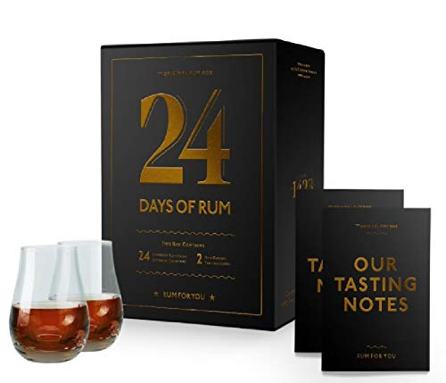 24 Days of Rum der Original-Rumkalender Adventskalender 2020