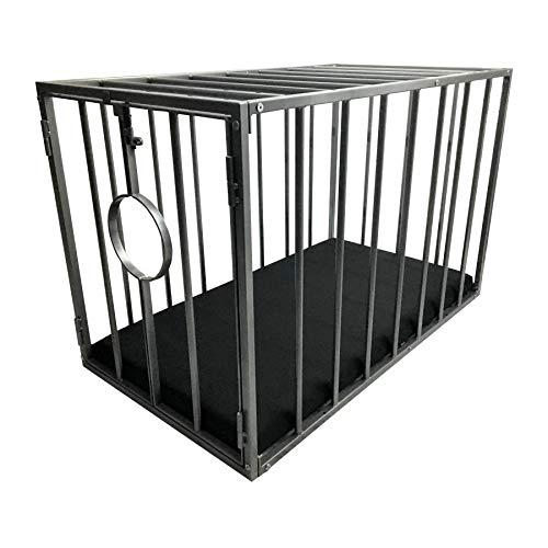 Exklusiver Metallkäfig Käfig Sklavenkäfig Stahlkäfig zur Sklavenhaltung und Sklavenerziehung Doggy metal...