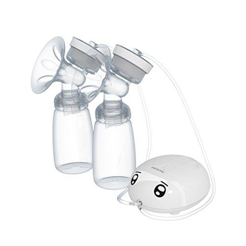 Dergtgh Real Bubee Baby-Doppel USB Elektrische Milchpumpe Säuglingsmilchpumpen Nippel Saugen Fütterung mit...