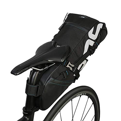 Yosoo 10L Bike Saddle Bag Tear Resistant Polyester Bike Seat Rear Bags Strap On Saddle Bag Bicycle Seat Pack...