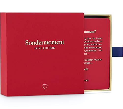 Sondermoment Love Edition - Fragespiel für Paare und Verliebte | Tiefgründige Fragen und Challenges rund um...