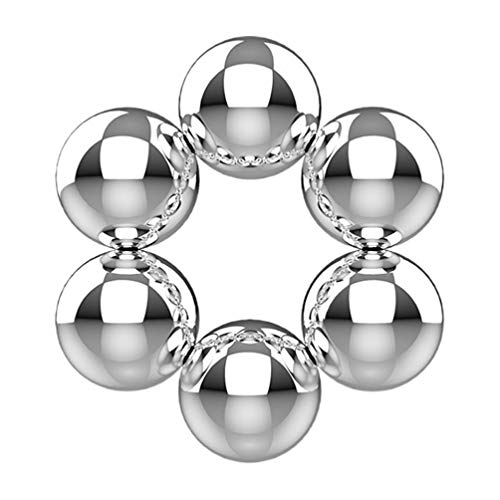 HEALLILY 6 Stücke Magnetische Nippelklemmen Magnetkugeln Nippelklammern Brustklammern Brustwarzenpiercing...