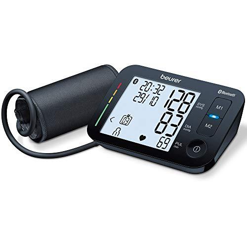 Beurer BM 54 Oberarm-Blutdruckmessgerät, digitaler Blutdruckmesser mit XL-Display, App-Anbindung mit...