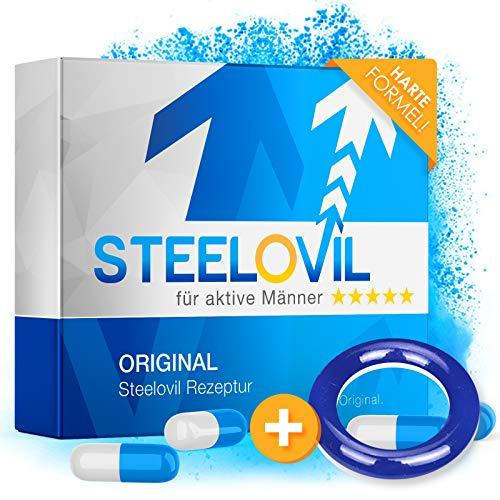 *NEU* STEELOVIL - Das Natürliche Potenzmittel mit der Einzigartigen Stiff-Power Formel I NEUTRALE...