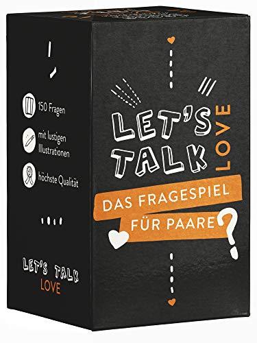 Let's Talk Love - Paar Spiel - Das Beste Fragespiel für Paare und Verliebte - Geschenk für Sie und Ihn -...
