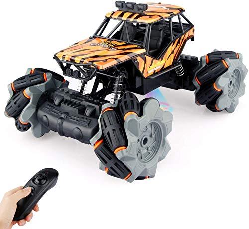 Baztoy Ferngesteuertes Auto,Kinderspielzeug Rc Offroad Auto mit Fernbedienung Remote Control Stunt Buggy...