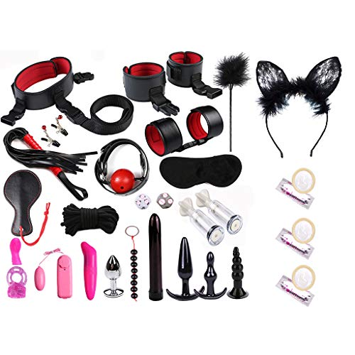 zmk Adult Fun 28Pcs/Set Bed Game Play Set Binding Sex Games Toys for Couple Kits