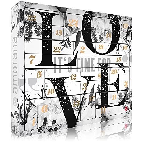 Amorana Erotischer Adventskalender Premium 2021 für Paare - Erotik Kalender mit 29 sinnlichen...