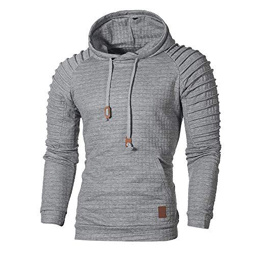 Dorical Herren Hoodie Kapuzen-Pullover Sweatshirt Langarm Kapuzenpullover Sweatshirt Kaputze Sweatjacke Hemd...
