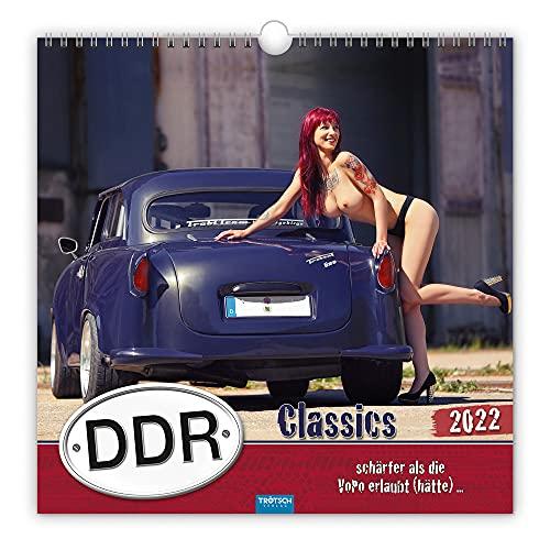 Trötsch Erotikkalender Kalender DDR-Classics 2022: Schärfer als die VoPo erlaubt (hätte)......