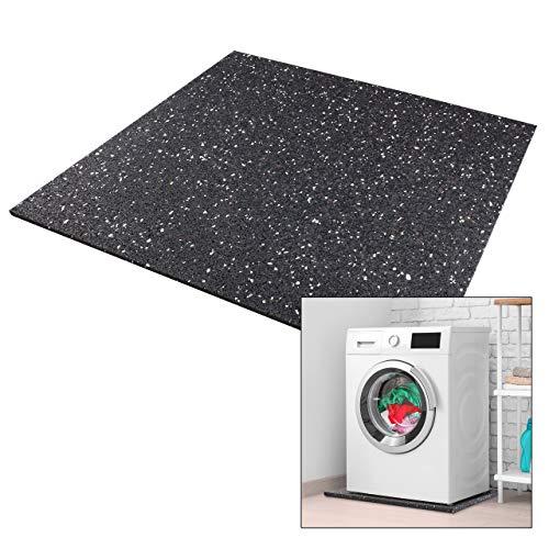 kör4u® Premium Antivibrationsmatte   60x60x1 cm   geeignet als Waschmaschinenunterlage, Schallschutzmatte,...