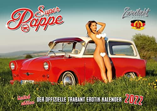 Der offizielle Trabant Erotik Kalender Super Pappe 2022 - NEU