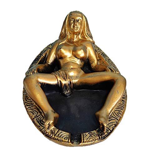 Wanjun Lustiger Sexy Erotischer Aschenbecher, Lustiges Geschenk Für Männer, Hergestellt Aus Natürlichem...