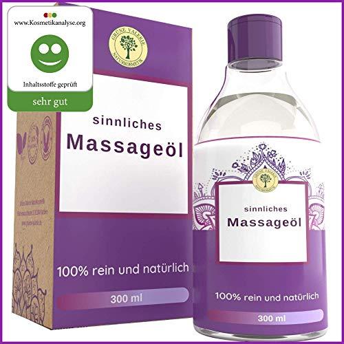 Ayurvedisches Massage Öl 300 ML, Ein Sinnliches Massageöl mit edlen Düften und Kräutern die entspannen,...