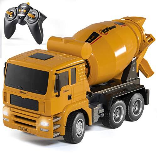 Top Race TR-120 voll funktionsfähiger Ferngesteuerter und batteriebetriebener Bauwagen, Spielzeug für Jungen...