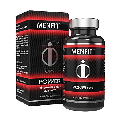 MENFIT® Power Caps - Spezielle Formel mit Tribulus terrestris, Cordyceps sinensis, Maca, Selen, Ashwagandha,...