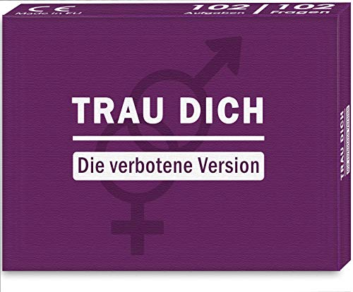 Kulinu Premium Fragespiel TRAU Dich - Die verbotene Version - Fragespiel für die perfekte Party - Wahrheit...