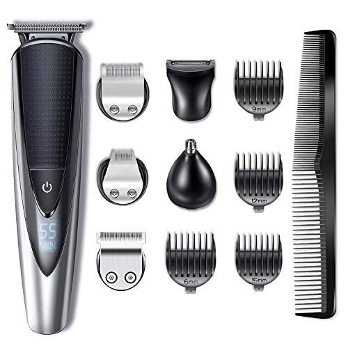Hatteker Bartschneider Haarschneider Herren Haarschneidemaschine Haartrimmer Bartschneider Bart Trimmer...