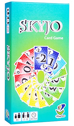 SKYJO, von Magilano - Das unterhaltsame Kartenspiel für Jung und Alt. Das ideale Geschenk für spaßige und...