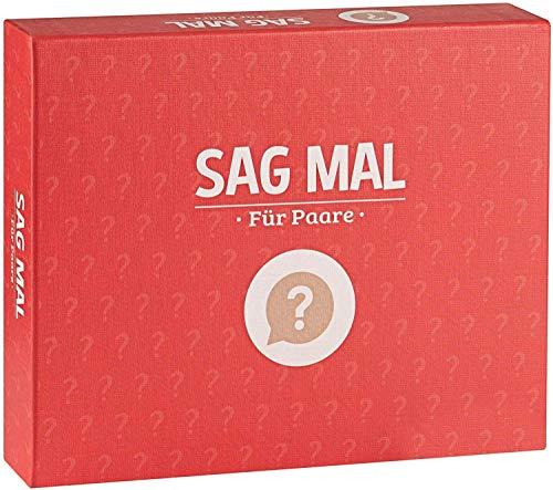 Sag mal.. Für Paare - Das Paar-Spiel mit tiefgründigen Fragen als Geschenk für deinen Partner - Mit diesem...
