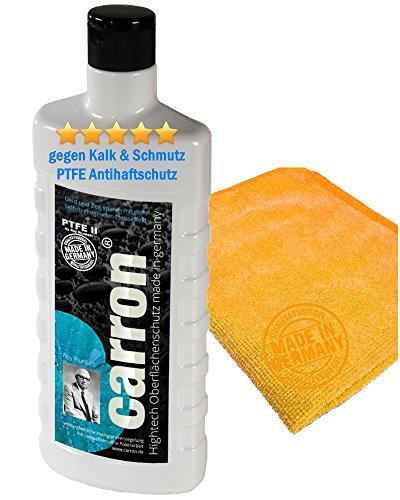 carron PTFE-II Acryl-Glas-Versiegelung Set gegen Kalk-Schmutz Dusche Duschwand Badewanne Duschkabine Fliesen...