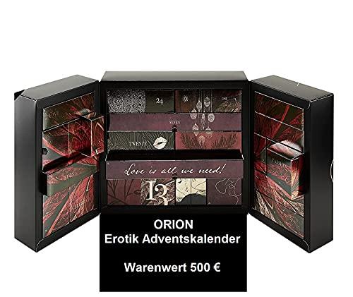 ORION Erotischer Adventskalender 2021 für Paare -EXKLUSIV EDITION- Wert 500€, Frauen & Männer Sex Advent...