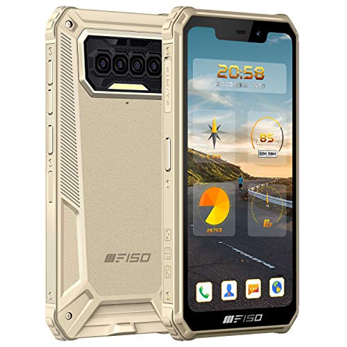Outdoor Smartphone IIIF150 B2021 IP68 Militaer Ohne Vertrag, 8000mAh Akku 5.86'' HD Dreifache Kamera,...