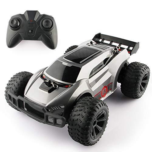 Baztoy Ferngesteuertes Auto Kinderspielzeug RC Stunt Rennwagen Auto mit Fernbedienung High-Speed Radio...