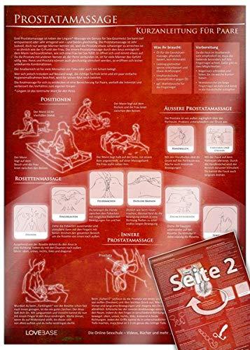Anal- und Prostatamassage - Kurzanleitung (2017) - Massage-Techniken für die Tantramassage und mehr Genuss...
