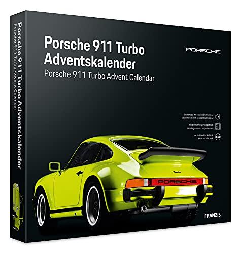 FRANZIS 55109 - Porsche 911 Turbo lightgrün Adventskalender 2021 - in 24 Schritten zum Porsche 911 Turbo...