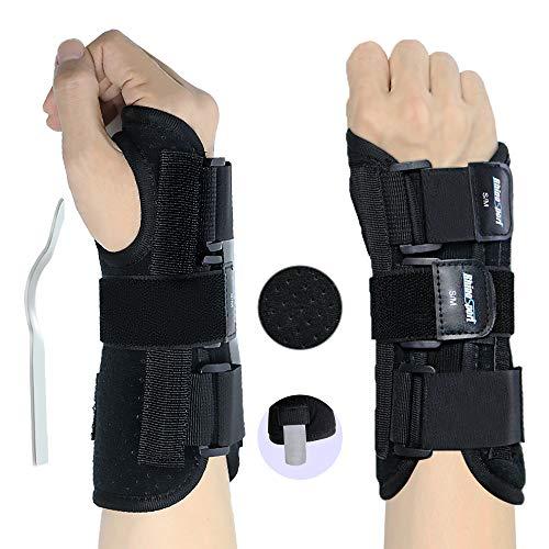 RHINOSPORT Handgelenk Bandagen Wrist Wraps Handgelenkbandage für Fitness, Bodybuilding, Kraftsport & Crossfit...