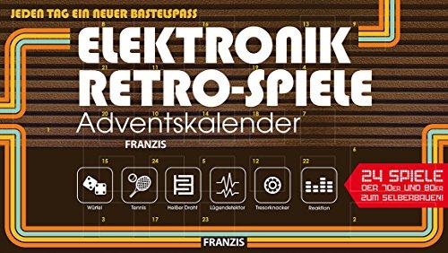 FRANZIS Elektronik-Retro-Spiele-Adventskalender 2018 | 24 Spiele der 70er und 80er zum Selberbauen | Jeden Tag...
