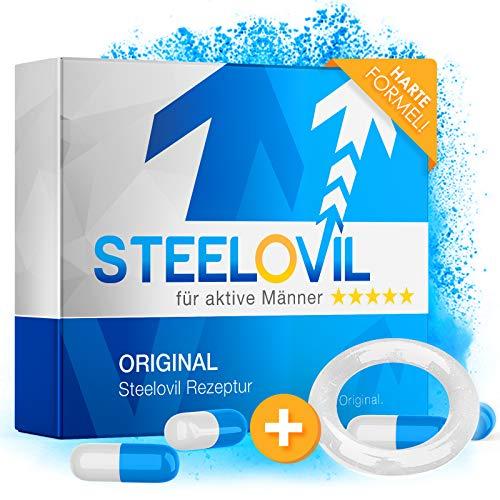 *NEU* Steelovil für den Mann | HOCHDOSIERT | Extra für Männer | 12 Kapseln