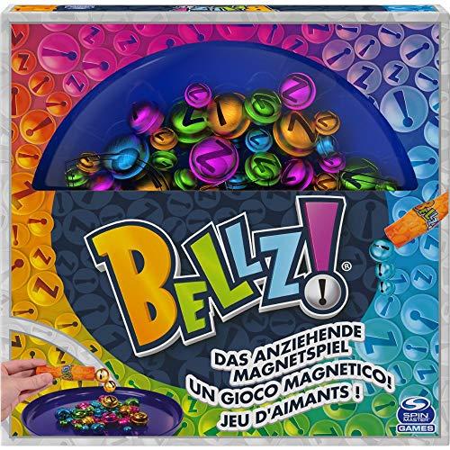 Spin Master Games 6059530 Bellz - Das anziehende Magnetspiel für die ganze Familie, 2 - 4 Spieler ab 6 Jahren...