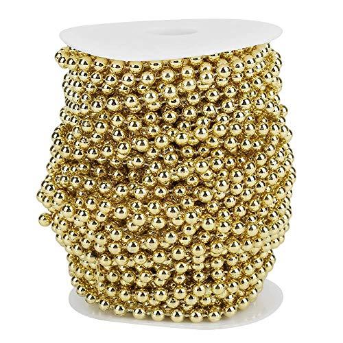 82ft/25m Perle String, Perlengirlande Perlen Trim, zarte dekorative Perlen String für Hochzeit Party...