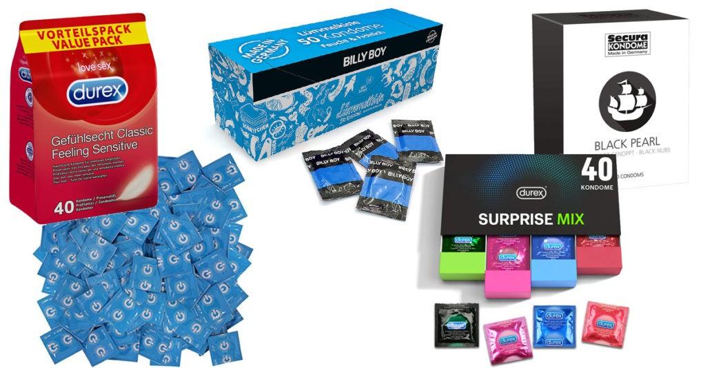 Kondome zur Verhütung